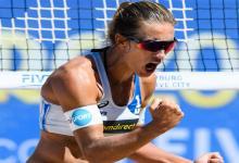 Mundial de Beach Volley: la entrerriana Ana Gallay festejó su primer triunfo