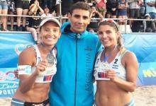 Beach Volley: la entrerriana Gallay abrió con un segundo puesto el Circuito Sudamericano