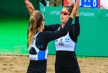 Beach Volley: los entrerrianos volvieron a ganar y avanzaron en Lima 2019