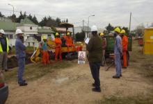 Comenzó en Pueblo Belgrano la nueva etapa de extensión de la red de gas natural