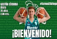 Tras su paso por Central Entrerriano, Gastón Córdoba jugará en Atenas