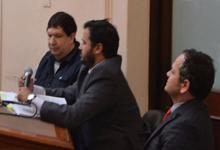 Escobar Gaviria junto a sus abogados