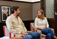 Stratta y Giano se reunieron para ultimar detalles de la Asamblea Legislativa