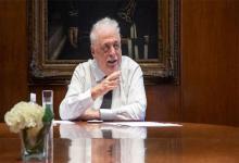 El ex ministro de Salud, Ginés González García.