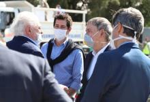 Ginés González García y Wado De Pedro entregan insumos en Córdoba