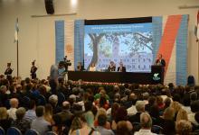 El gobernador Gustavo Bordet dejó inaugurado el 141° período de sesiones ordinarias de la Asamblea Legislativa provincial.