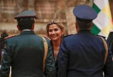 Jeanine Áñez, presidenta interina de Bolivia.