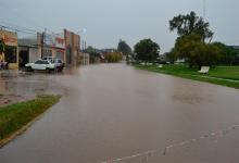 Ya cayeron más de 90 mm en algunas zonas de Entre Ríos y hubo anegamientos