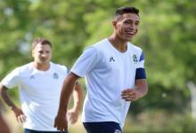 Fútbol: el concordiense Germán Guiffrey renovó su contrato con Gimnasia La Plata