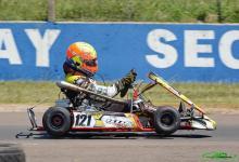 """El """"Gurí"""" Martínez fue uno de los ganadores en la vuelta del karting entrerriano"""