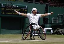 Tenis adaptado: Gustavo Fernández tuvo revancha y conquistó Wimbledon
