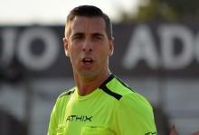 Hernán Mastrángelo será el árbitro del partido de Patronato ante Boca