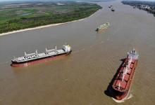 El ministro Guerrera confirmó que el Estado controlará por 12 meses la Hidrovía