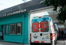 El gendarme baleado fue atendido en el Hospital Centro de Salud