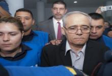 Justo José Ilarraz se retira detenido del juicio (Foto: ANALISIS)