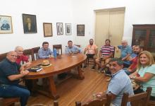 Reunión autoridades UCR Paraná y seccionales