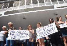 reclamo por Fátima Acevedo (Foto: ANALISIS)