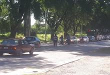 control policial de la cuarentena en Paraná (Foto: ANALISIS)