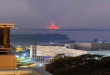 incendio isla Santa Fe