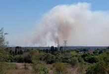 incendio islas Santa Fe