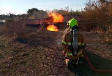 incendio pastizales Paraná