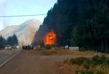 Encontraron dos puntos de origen de los incendios en Chubut y Río Negro