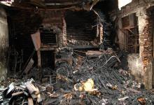 Incendio de tapicería en Paraná