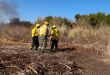 Combaten incendios en las islas del Delta con operativos simultáneos