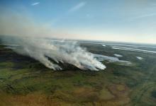 incendio islas de Rosario