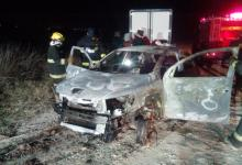 Confirmaron la identidad del joven hallado calcinado en su auto en Viale