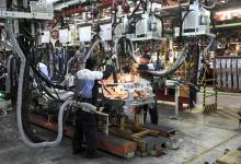 La industria utilizó en febrero el 58,3% de su capacidad instalada