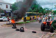 Cansados de la inseguridad, los vecinos protestaron en Gualeguaychú y cortaron un importante bulevar en la mañana de ayer.