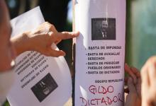protesta contra Insfrán