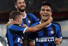 Lautaro Martínez brilló en la goleada del Inter para ser finalista de la Europa League