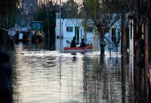 Inundación en Gualeguaychú en junio de 2019