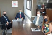 Autoridades de Iosper informaron a magistrados la situación de la prestadora de salud