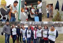 Un equipo sanitario del Ministerio de Salud inmunizó con vacuna antigripal a 200 personas y realizó asesoramiento sobre hábitos saludables y prevención de enfermedades crónica en el Departamento Islas del Ibicuy.