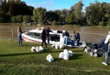El Ejecutivo entrerriano distribuyó 460 módulos básicos de emergencia en 20 escuelas del Departamento Islas del Ibicuy y otros 60 módulos en seis instituciones educativas del Departamento Victoria.
