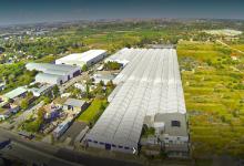 Planta del parque industrial