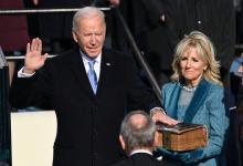 Joe Biden jura como presidente