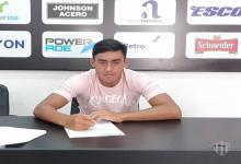 Fútbol: Juan Barinaga se sumó a los jóvenes con primer contrato en Patronato