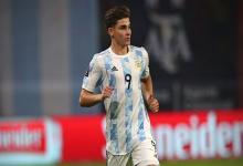 Copa América: Julián Álvarez reemplazará a Lucas Alario en la lista de Argentina