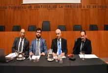 García valoró el sistema penal y Benítez pidió fortalecer al Ministerio de la Defensa