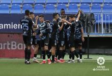 Fútbol: el concordiense Lucas Robertone anotó su primer gol de la temporada en España