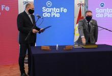 Jorge Lagna asumió como ministro de Seguridad de Santa Fe