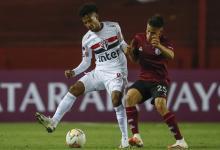 Copa Sudamericana: sobre la hora, Lanús le ganó un vibrante partido a San Pablo