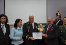El comisario general José Lauman fue homenajeado por la Junta Sanmartiniana.