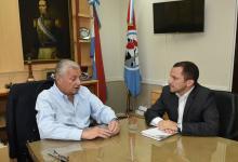 José Lauritto junto a Germán Grané