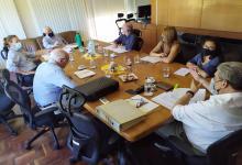 En CARU, Lauritto trató con la Asamblea Ambiental temas sobre la situación del río Uruguay
