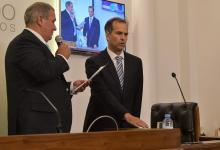 Lautaro Schiavoni jura como secretario de la Cámara de Senadores